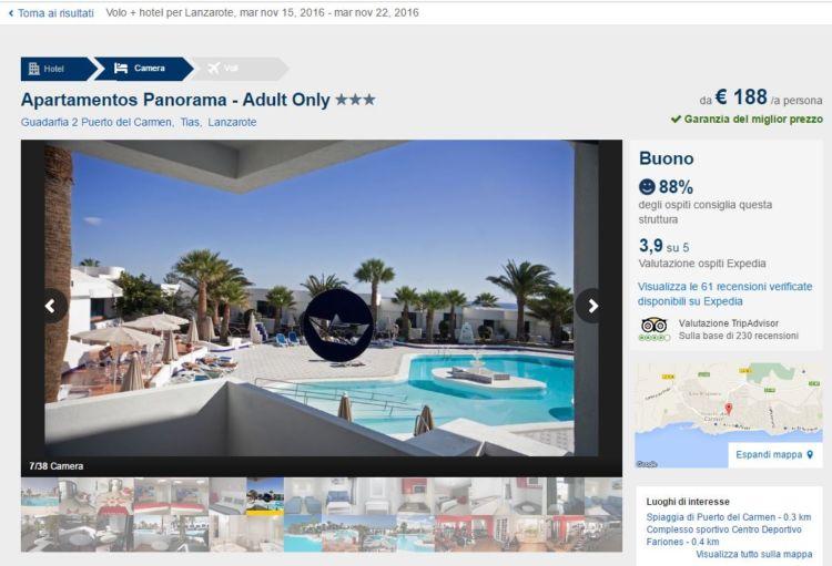 lanzarote Apartamentos Panorama