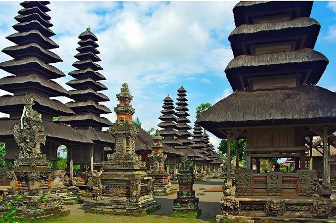 indonesia bali tempio